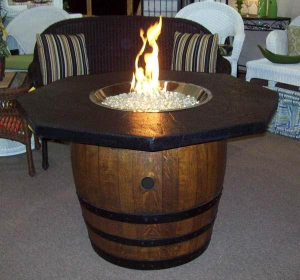 BARREL ON FIRE pit plan