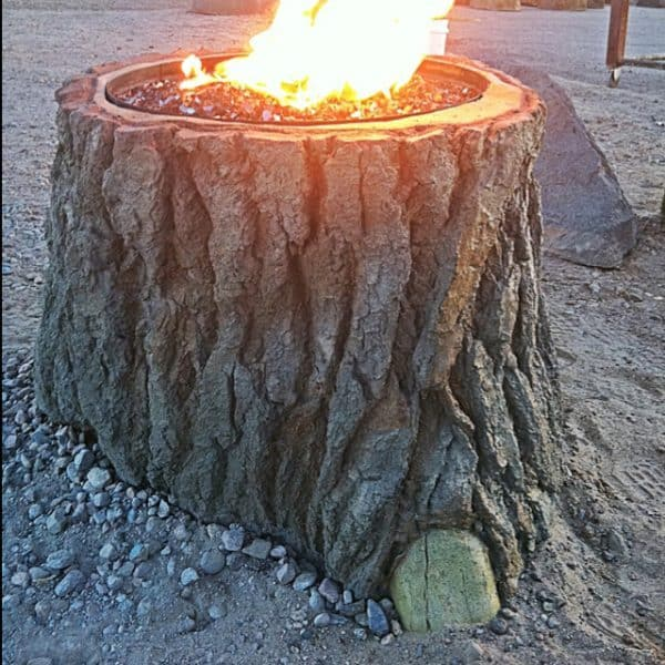 TREE STUMP PIT design