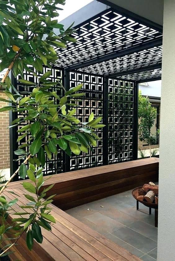 19 amazing outdoor privacy screens that you will love for Temporary privacy screen