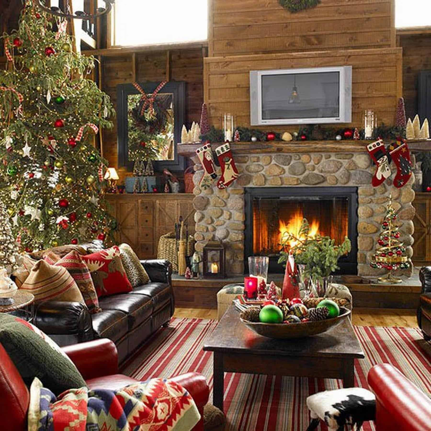 simple elegant living room with white fireplace as a center of country lounge beautiful christmas decoration ideas traditional thin rug stone centers decorating living room with stone fireplace living