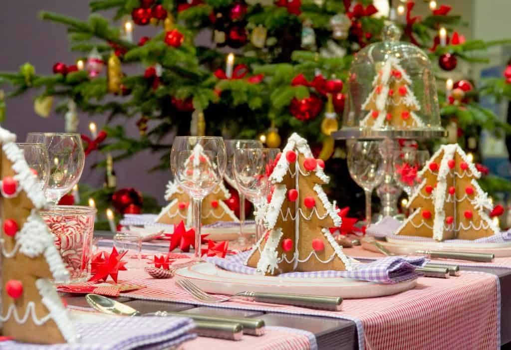 table setting ideas for christmasner best about with eve menu kids simplenerchristmas