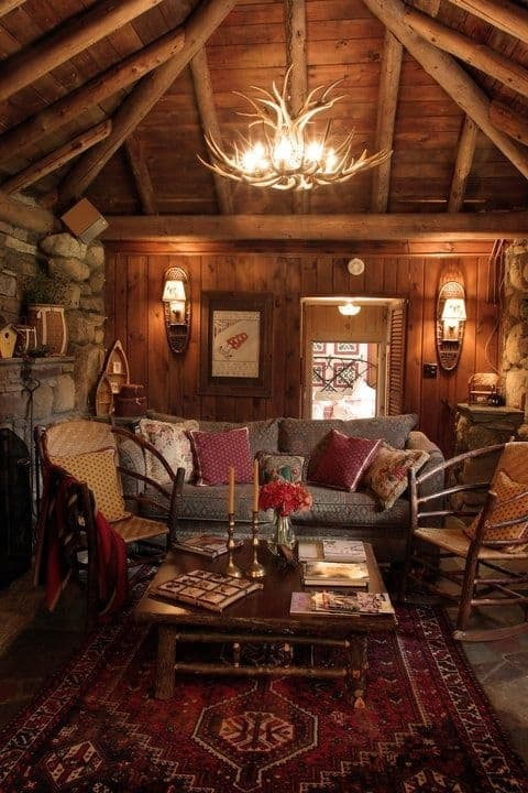 12 best cabin in the woods images on pinterest beach house rustic cabin decor ideas