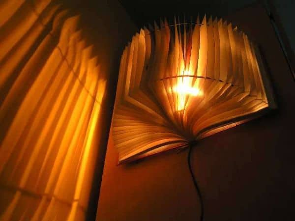 BOOK LAMPSHADE