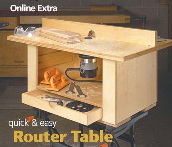 49 free diy router table plans for an epic home workshop for Home built router