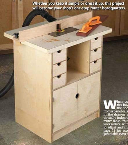 49 free diy router table plans for an epic home workshop router table and organizer plans keyboard keysfo Images