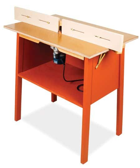 free $100 ROUTER TABLE plan