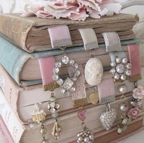 TURN YOUR OLD JEWELRY INTO NEW BOOKMARKS