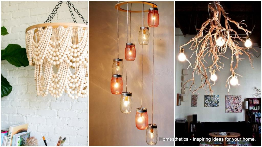 19 charming diy chandeliers that will lighten up your space