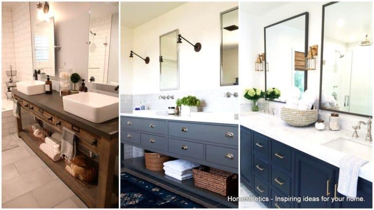 19 Double Vanity Bathrooms That Will Make Your Lives Easier