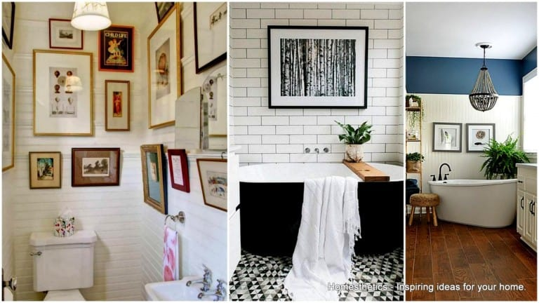 19 Unexpected Bathroom Artwork That Will Take You Aback