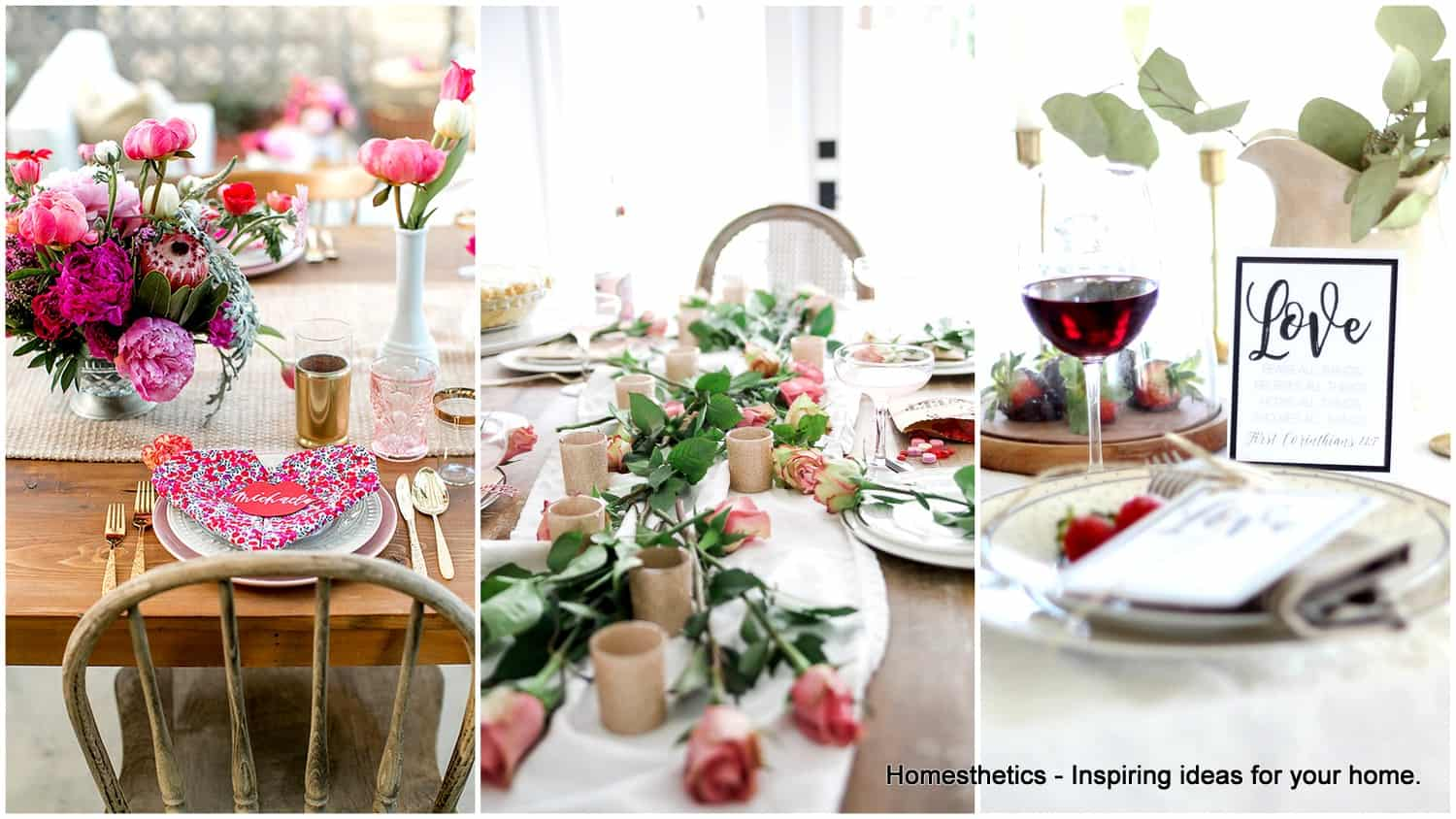 19 Valentine 39 S Day Table Setting Ideas That Will Make Your