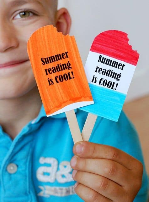 THIS ICE-CREAM BOOKMARK THAT'S PERFECT FOR SUMMER READING