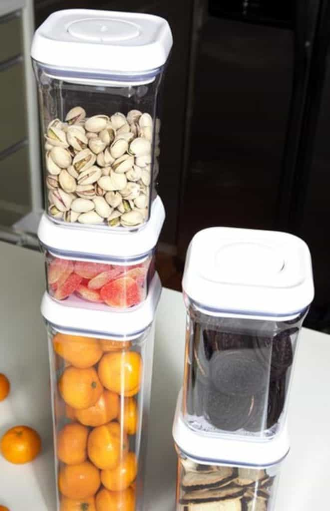 Reduce Your Clutter With These Vertically Stackable Containers