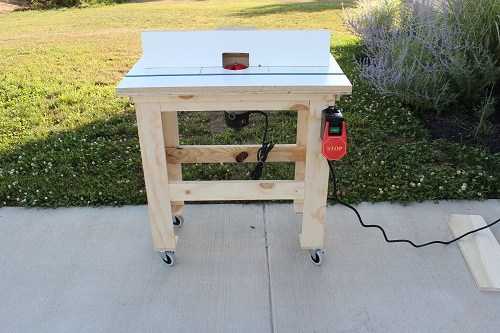 ONE PROJECT CLOSER ROUTER TABLE plan