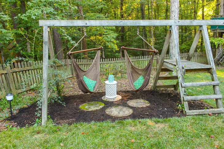 47 free diy swing set plans for a happy playing area in for How to build a swing set for adults
