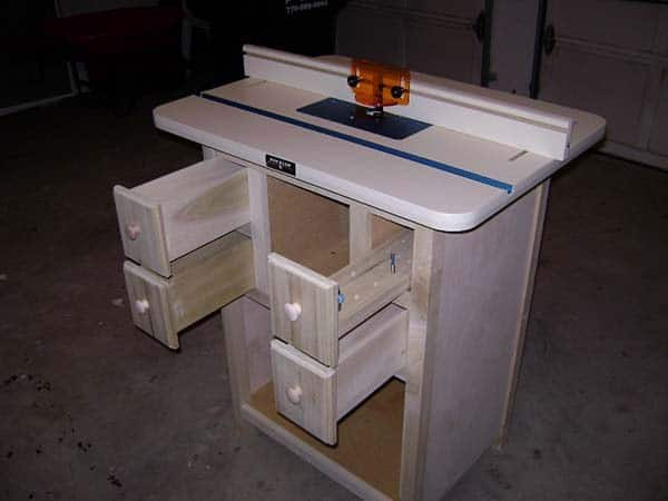 JANE'S ROUTER TABLE