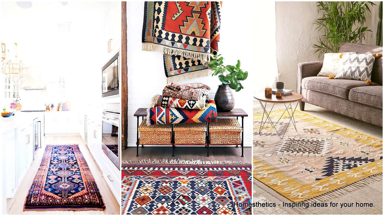 Kilim rugs colorful tradition reborns in interior design for Kilim designs