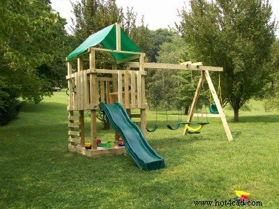 THE WOODEN PLAYSET PROJECT