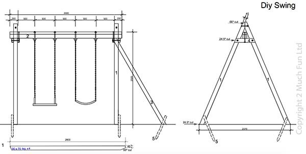 THE SWING SET PLANS
