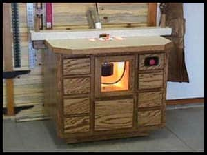 WOODWORKER ROUTER TABLE