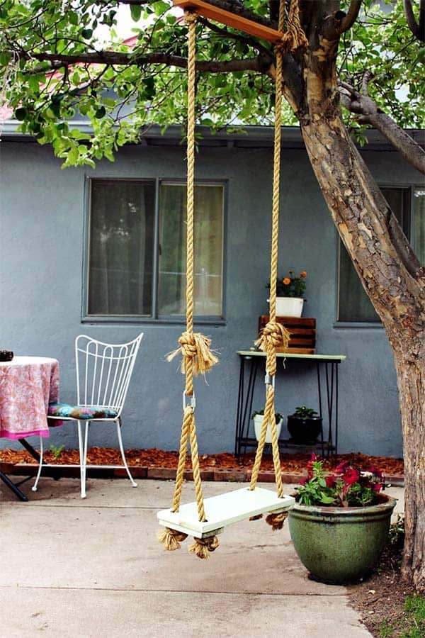 THE DIY TREE SWING