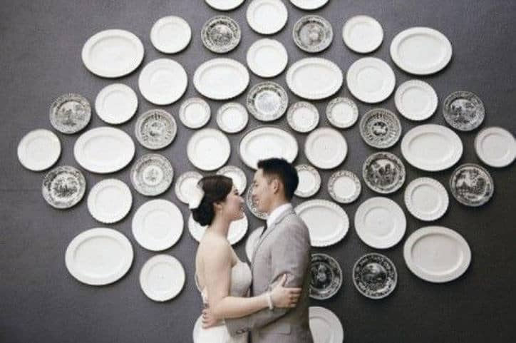 PLATES BACKDROP