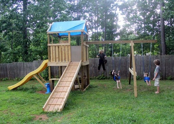 THE DIY SWING SET