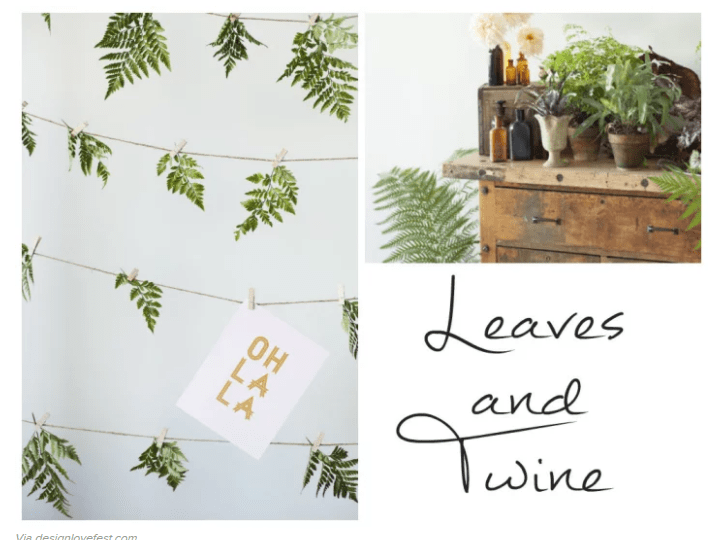 FREE Ferns TREE BACKDROP