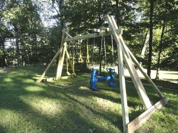 THE DIY FRIENDLY SWING SET