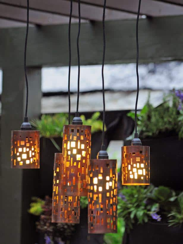 33 Awesomely Cool DIY Light Fixtures That Will Illuminate With Warmth