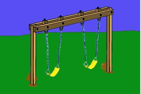 EASY BACKYARD SWINGS