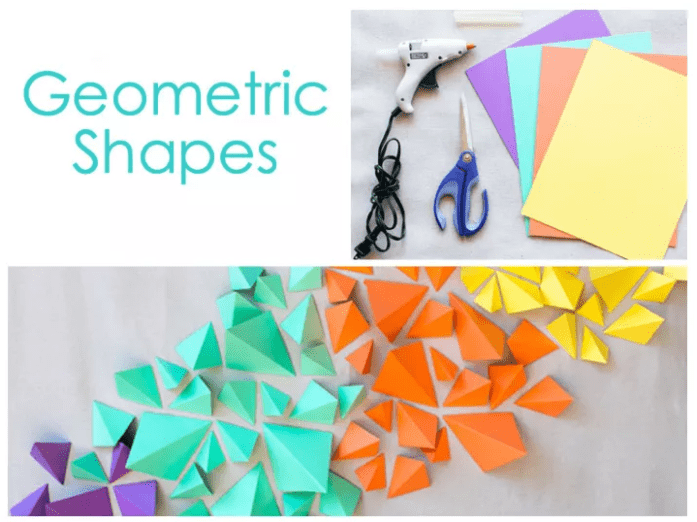 Colorful GEOMETRICAL SHAPES