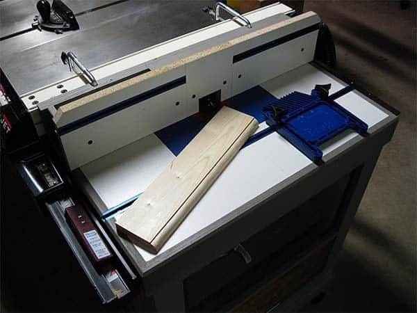 FENCE ROUTER TABLE
