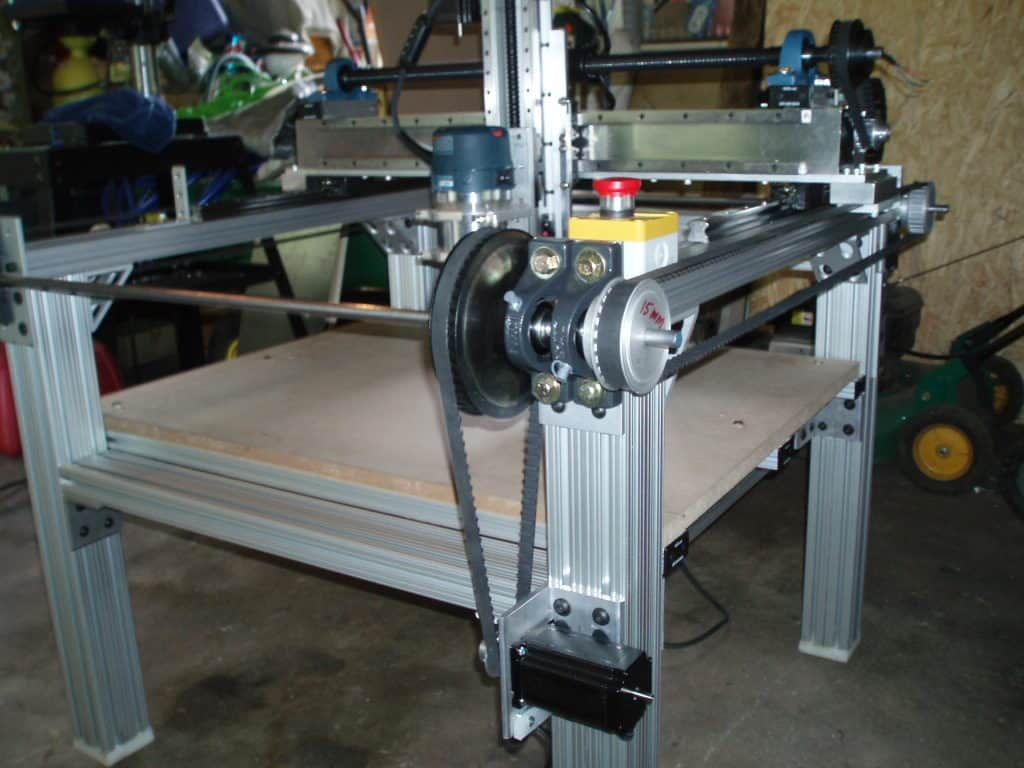 UTILITARIAN CNC ROUTER TABLE