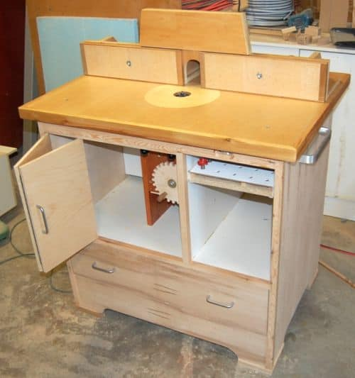 THE JOHN HEISZ ROUTER TABLE