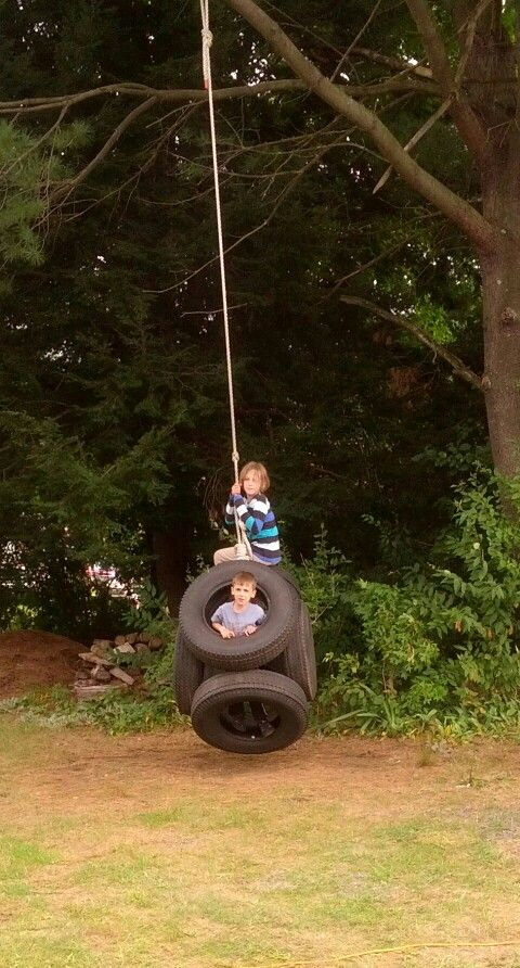 MULTIPLE TIRE SWINGS
