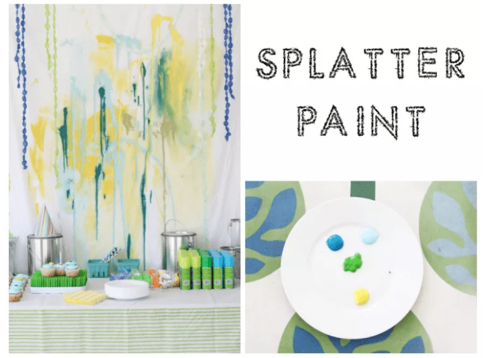 SPLATTER PAINT Photo Booth
