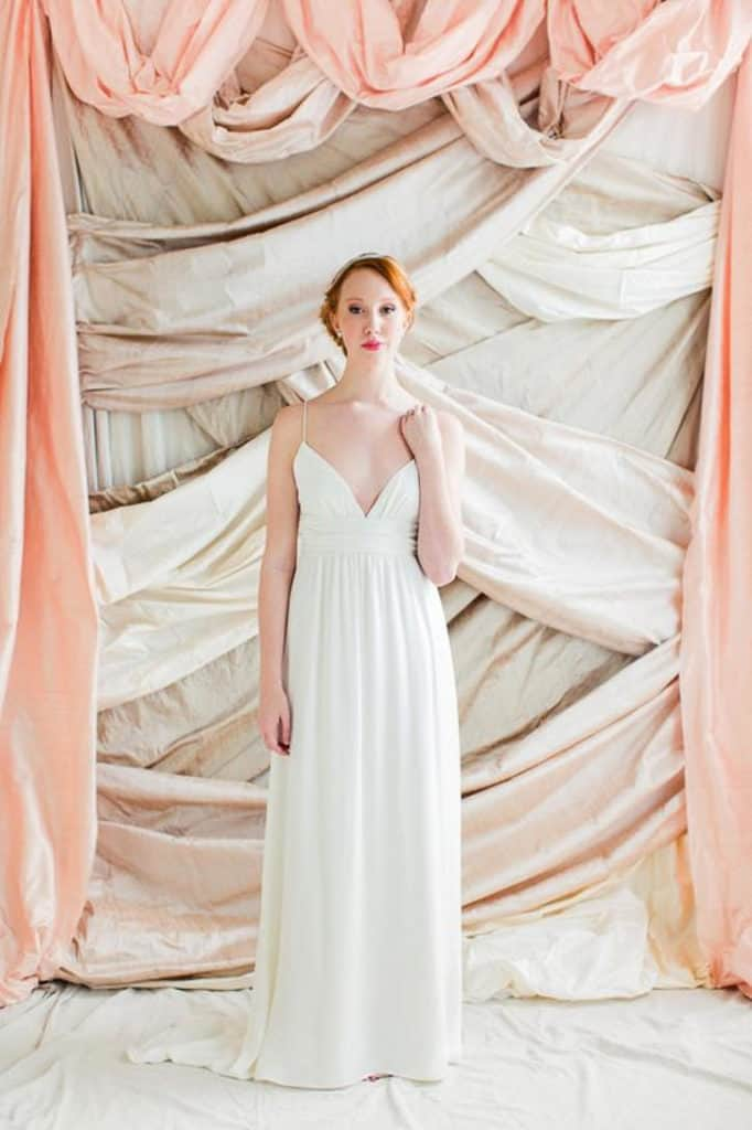 LAYERED FABRIC BACKDROP