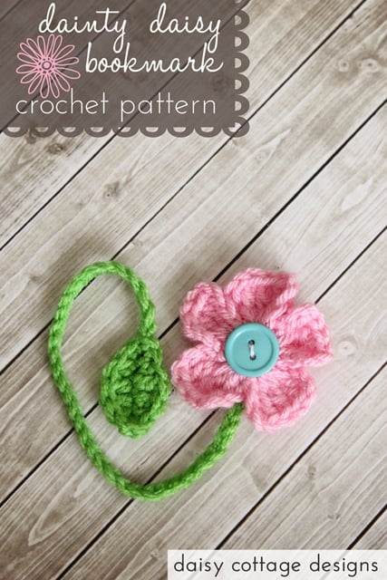 DAINTY DAISY BOOKMARK