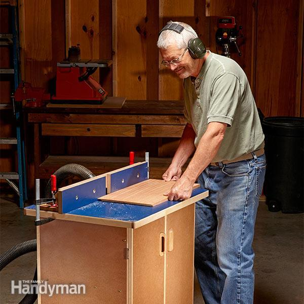 THE FAMILY HANDY MAN'S ROUTER TABLE PLANS