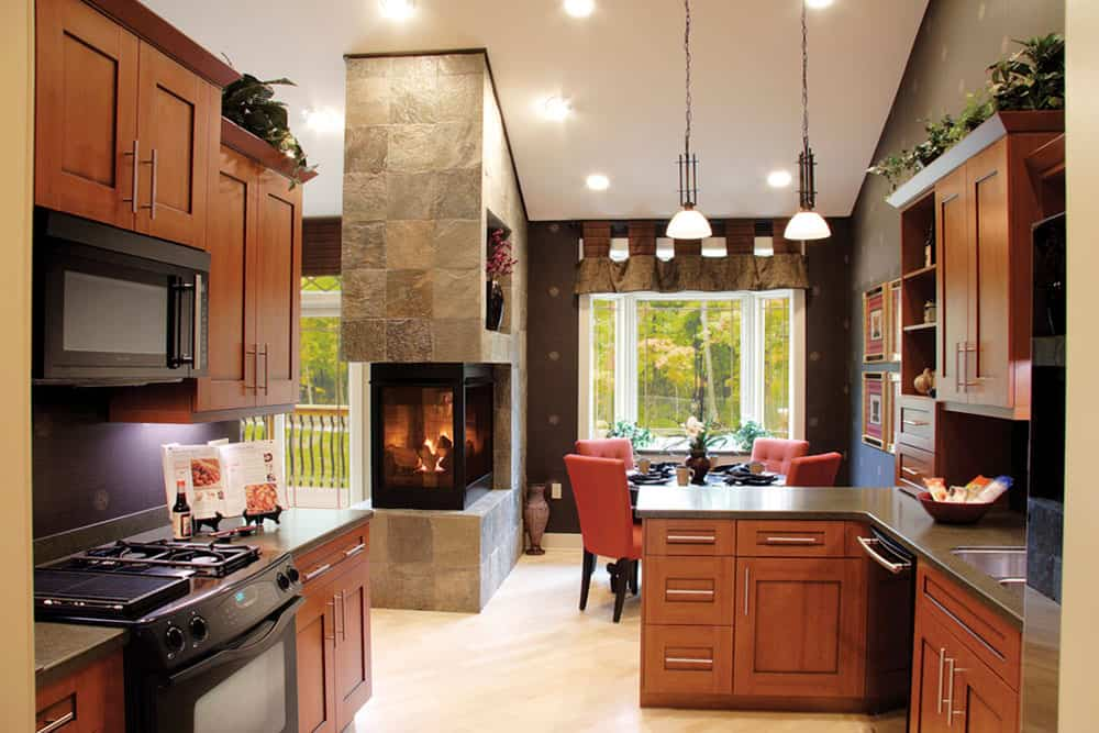 Efficiency And Attractiveness With Double Sided Fireplace10