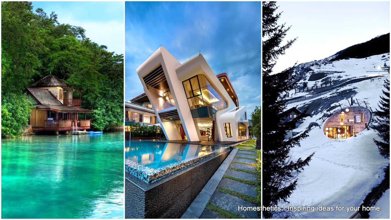 30 Luxury Villas Designs That Changed The Architecture World