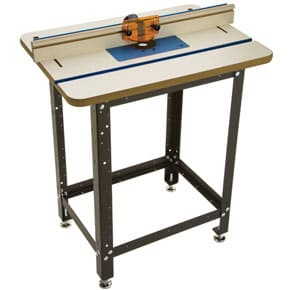 A SHOP-MADE ROUTER TABLE
