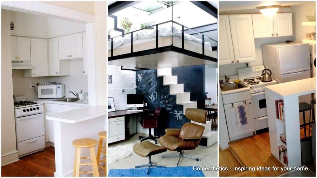 10 creative and ingenious ideas for small space interiors for Efficacy apartments
