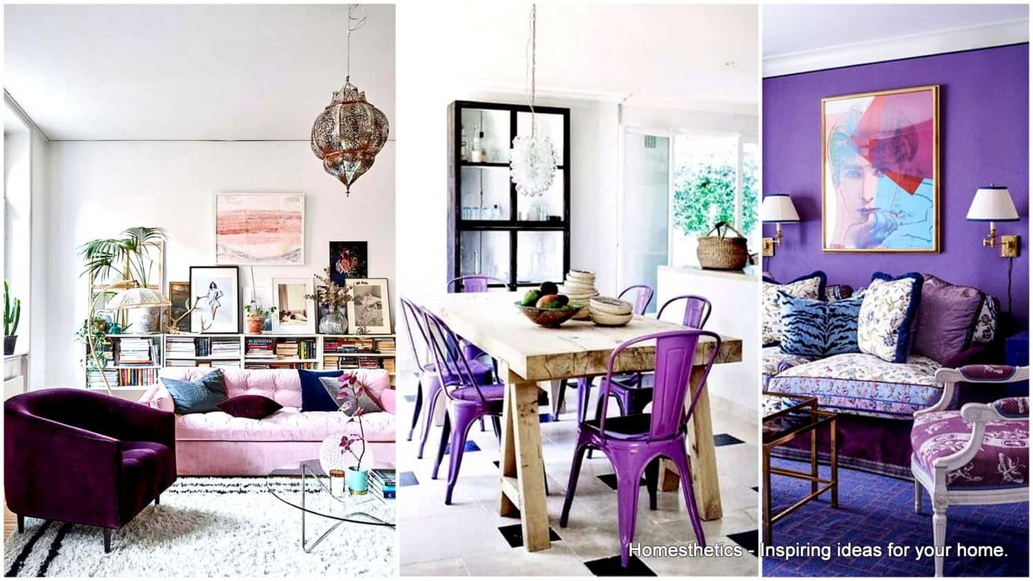 Ultra Violet Home Decor Pantones Color Of The Year 2018
