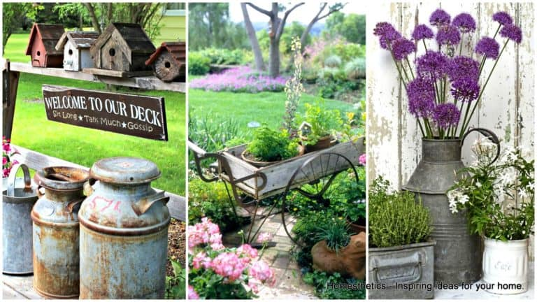 Vintage Gardens That Will Make You Fall In Love With Antique Designs