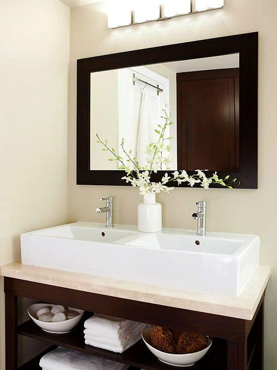 Small Bathroom Double Sink
