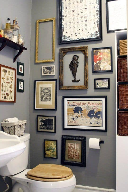 19 Unexpected Bathroom Artwork That Will Take You Aback ...