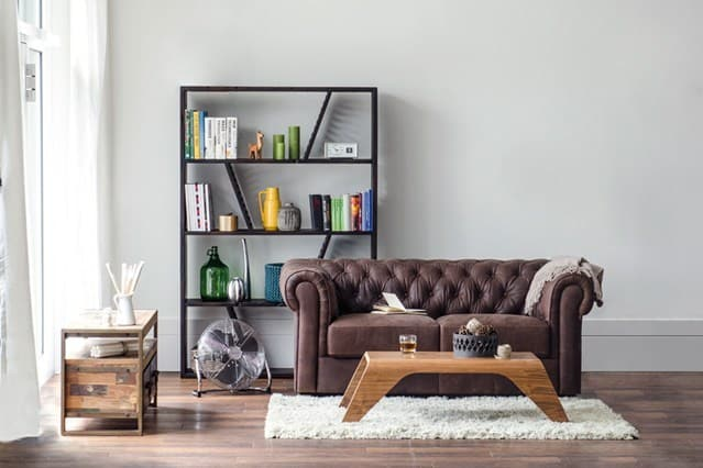 20 super modern chester sofas that will make your home for Chesterfield sofa living room ideas