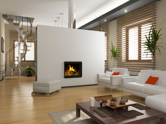 double sided fireplace melbourne